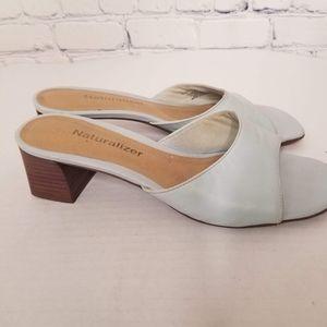Naturalizer square toe block heels